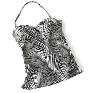 Tommy Bahama Womans Leaf Print  Swim Suit